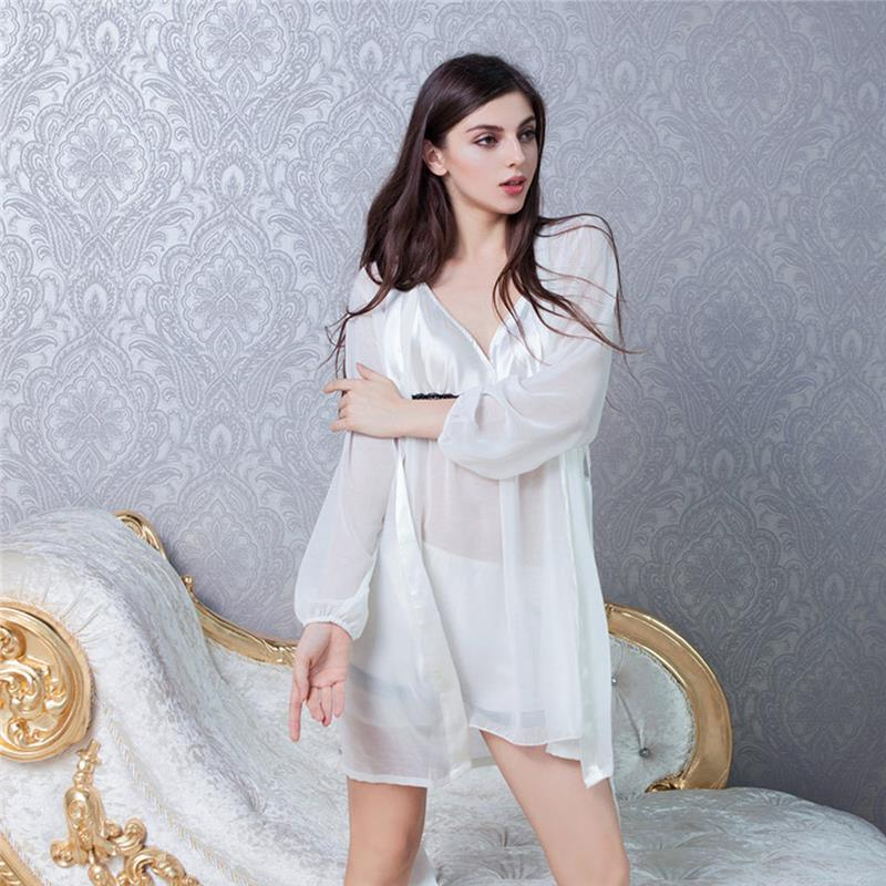 cd240440a 3 pcs Silky Robe