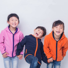 Soft Polar Fleece Warm Child Coat Baby Boys and Girls Jackets Windproof Children Outerwear Clothing For 2-12 Years Old цены