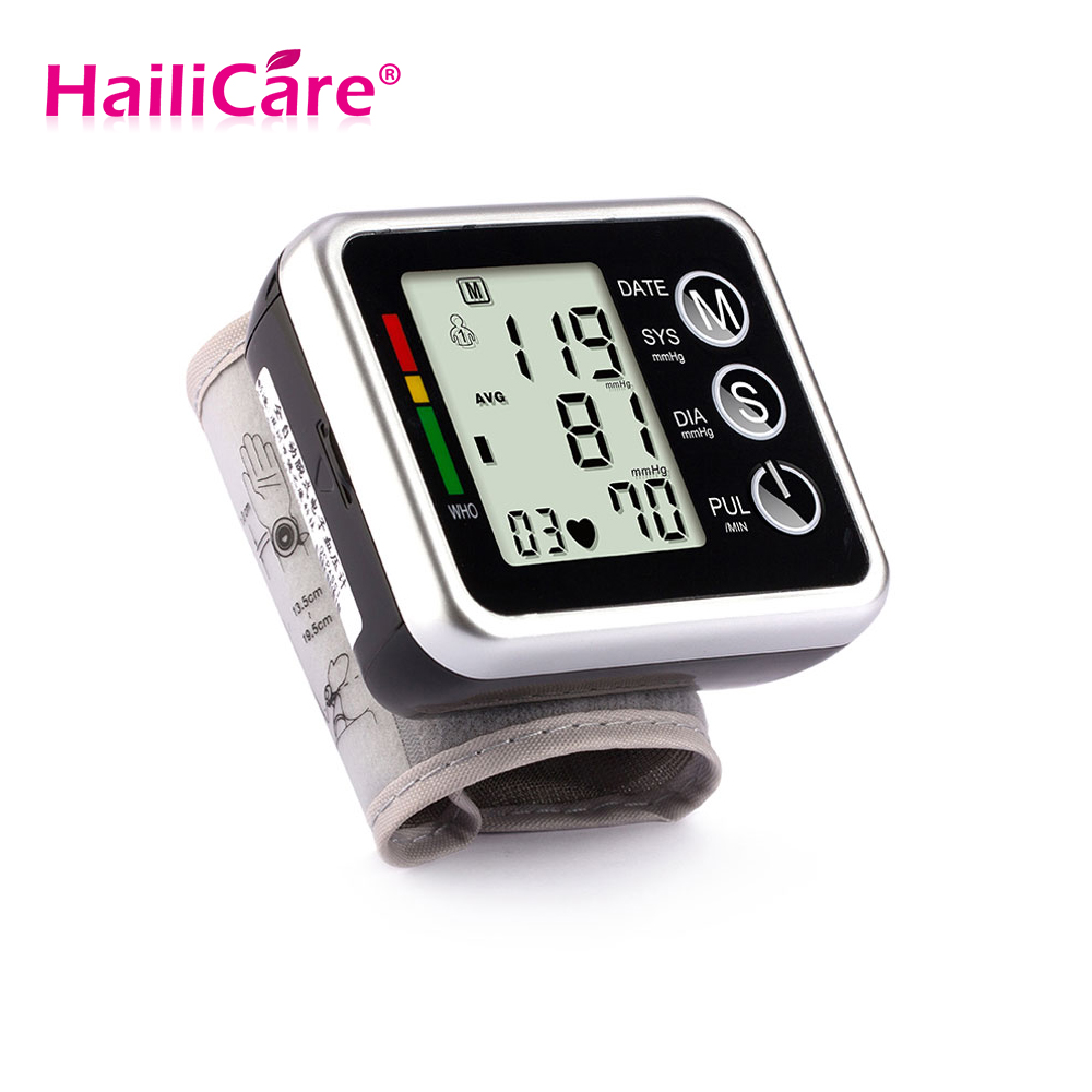 Health Care Automatic Digital Wrist Blood Pressure Monitor font b Meter b font Cuff Blood Pressure