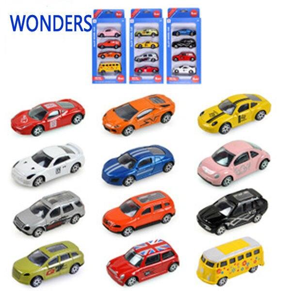 4 Pcs Set Children S Toys Alloy Model Car Alloy Model Toy Truck