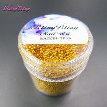 Blingbling 10 мл Nail Art Блеск 0.6 мм-1.1 мм Crystal AB стеклянный бисер икры 3D Pixie Русалка ногтей Советы Маникюр украшения(China (Mainland))