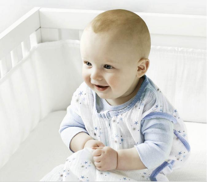 0-2Y 100% Muslin Cotton Aden Anais Baby Thin Sleeping Bag For Summer 83cm Length 120G