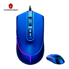 Thunderobot Hunter Mouse 12000DPI Gaming Mouse 7 Buttons USB Wired Mice LED Optical Laptop Mouse Gamer Mice For PC Laptop computer