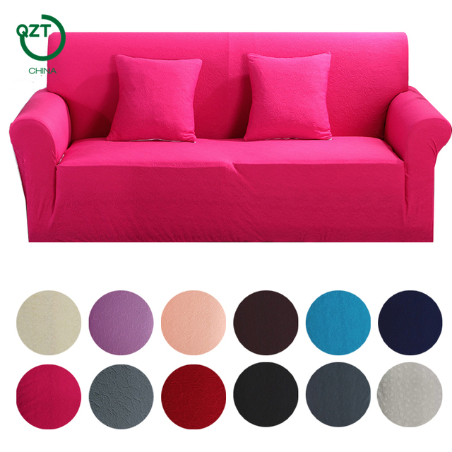 Sofa Cover Stretch European Jacquard Furniture Cotton Soft Fabric Protector Sectional Unlversal Corner Couch