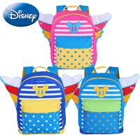 2018 Disney Kids Cartoon Backpack Angel Design Children School Bags Cute Color Minnie Mickey Baby Girl Boy Kindergarten Book Bag