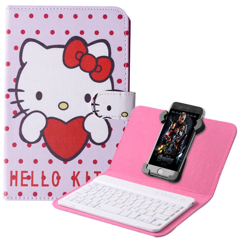 2016 Bluetooth Keyboard Case For Lenovo K80 K80M(P90) Case High Quality PU Leather Flip Stand Universal Keyboard Cover flip left and right stand pu leather case cover for blu vivo air