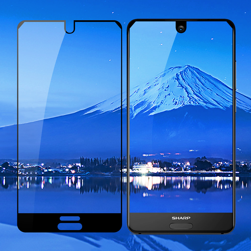 Image 4 - JONSNOW Full Coverage Glass For Sharp Aquos S2 Tempered Glass for Aquos C10 9H Explosion proof Screen Protector Protective Film-in Phone Screen Protectors from Cellphones & Telecommunications
