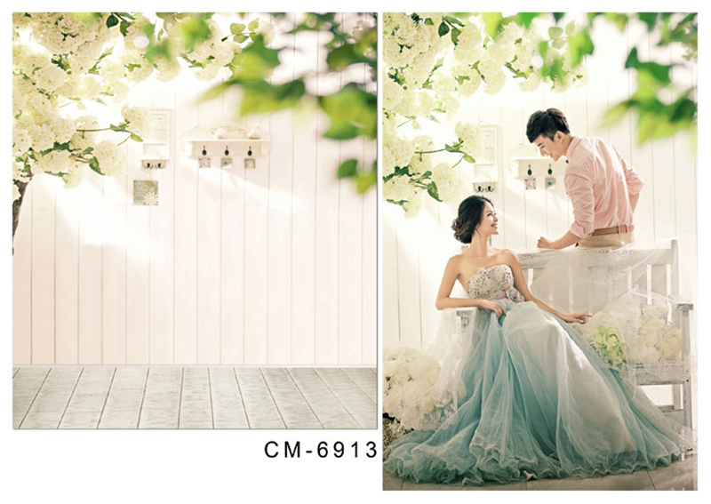 300*600CM Wedding Photography Backdrops Photo Studio Equipment Aestheticism wedding background Pure white Fresh For photo william hogarth aestheticism in art