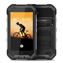 Blackview BV6000s 4G NFC Waterproof Shockproof Smartphone Android 7.0 MTK6737T Quad Core 2GB+16GB 8MP 4200mAh OTG Mobile Phone
