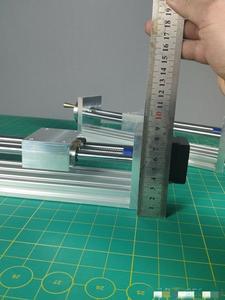 Image 3 - Шаговый электродвигатель NEMA17/23 с ЧПУ, направляющая по оси Z для 3D принтера Reprap, запчасти с ЧПУ, дорожный ЧПУ роутер 170/270 мм, Линейный Привод движения