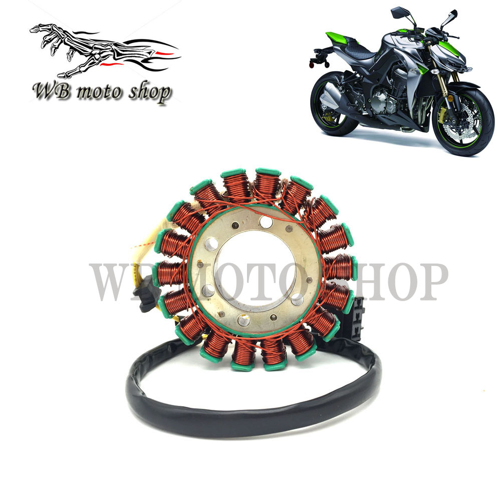 Free Shipping Motorcycle Magneto Engine Stator Generator Charging Coil For Kawasaki Z1000 2007 2012 Year 07