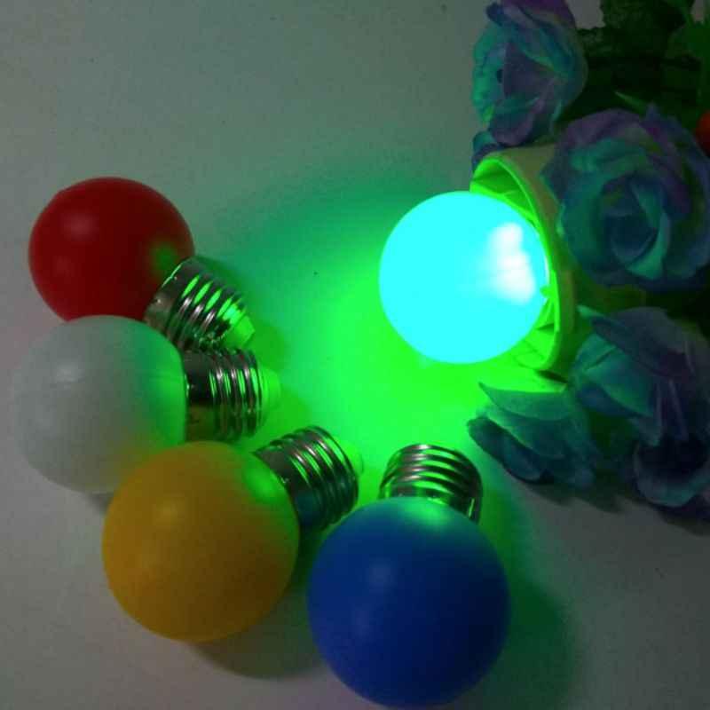 LED غلوب ضوء لمبة E27 LED مصباح بار 3 W الأبيض الأحمر الأزرق الأصفر البرتقالي الوردي ضوء المصباح الملونة سباق الخيل ضوء المنزل الديكور