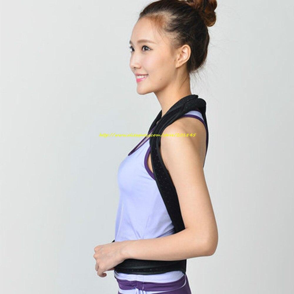 Male Female Adjustable Posture Corrector Waist Lumbar Shoulder Chest Back Spine Support Brace Belt Body Posture Correction Tool free size o x form legs posture corrector belt braces