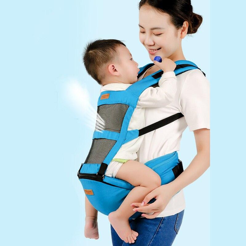 Honeylulu Summer 2 in 1 Baby Carrier 3D Breathable Mesh Sling For Newborns Ergoryukzak Backpack Kangaroo For Baby Hipsit Wrap