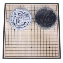 Weiqi – jeu de société avec pierre magnétique, ensemble complet de 19x19 lignes