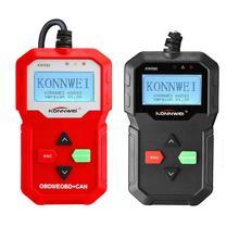 Kw590 Car Fault Diagnosis Instrument Detector Scanner 12V Voltage Car Diagnostic Instrument Supports Six Languages цена в Москве и Питере