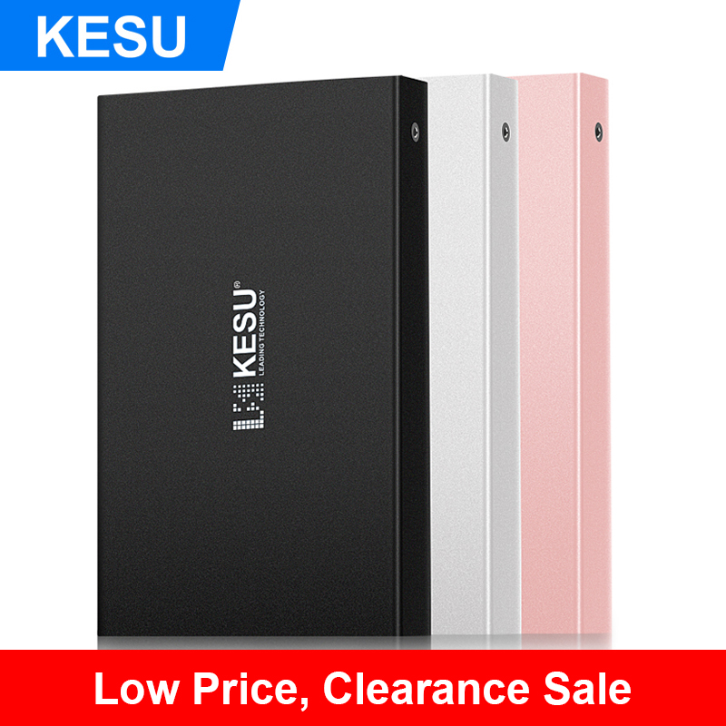 KESU External Hard Drive USB3.0 HDD 80GB 120GB 160GB 250GB
