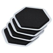 4 шт мебель ползунки колодки жесткая эффективная мебель грузчики для перемещения тяжелой мебели
