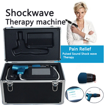 Newest Physical Shockwave Pain Therapy System Extracorporeal Acoustic Shock Wave Neck Shoulder Pain Relief Massage Health Care