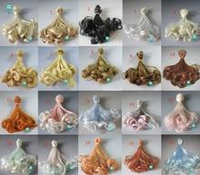 1tk 15cm ja 25cm * 100cm Pear rullid Doll parukad BJD / SD kuldpruunid ja muud värvid