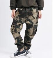 Camouflage Cargo Pants Boys Hip Hop Harem Sweatpants Children S 100 Cotton Clothing Pants Overalls Multi