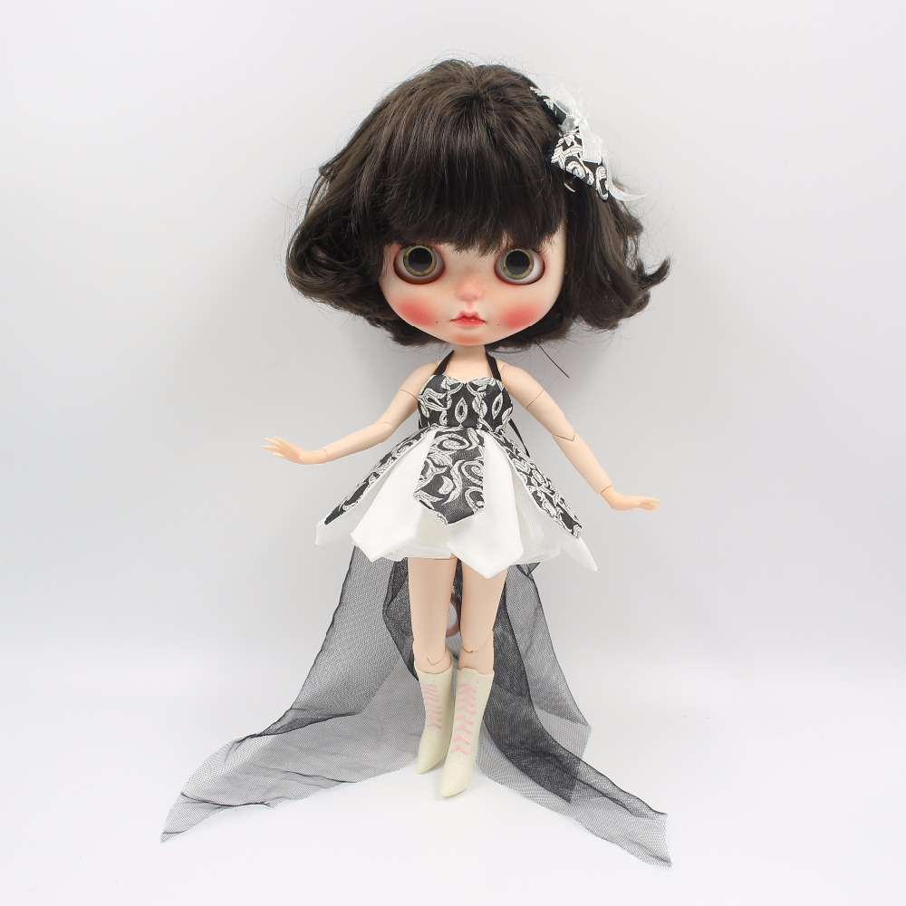 Neo Blythe Doll Beautiful Dress With Bow 3