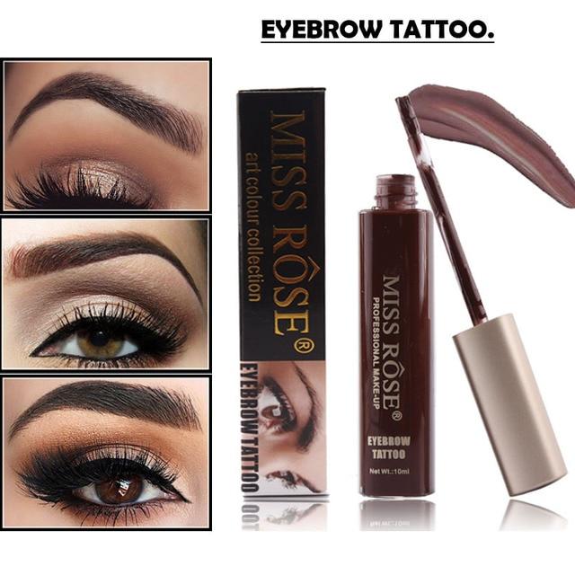 Miss Rose Makeup Eyebrow Shadows Waterproof For Eyebrow Henna Gel