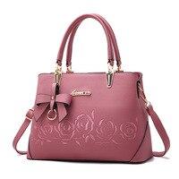 2018 New Europe Fashion Trend Bag Women Handbag Fashion Shoulder Bag Printing Flowers Crossbody Bag Female