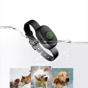 Image 1 - Pet Dog Anti Bark Collar Electric Collar Waterproof Dog Training Rechargeable Dog Stop Barking Collar Pet Trainer