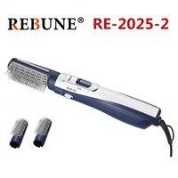 REBUNE новые инструменты для укладки Мощный многофункциональный фен для волос щеточный валик стайлер 220 В (1 коробка 12 шт)