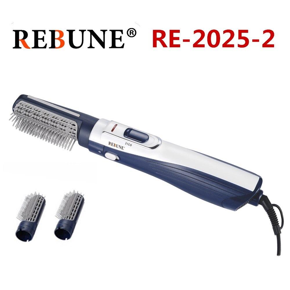 REBUNE Novo Estilo Ferramentas Poderoso Secador de Cabelo Multifuncional Rolo da Escova De Cabelo Styler 220 V (caixa 1 12 Pcs)