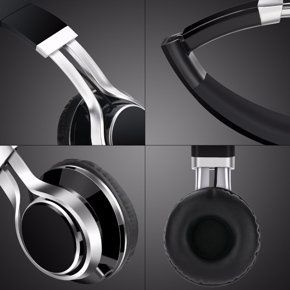 TOPROAD Wired Mobile Phone Headphone Stereo Foldable Headset Earphone 3.5MM Earphones Head Phone for iPhone MP3 Game Computer 2