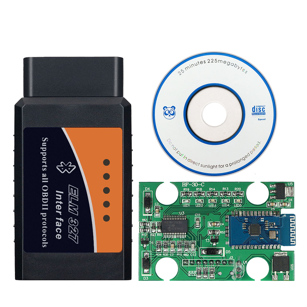 ELM327 PIC18F25K80 чип Elm 327 V1.5 OBD2 сканер Elm 327 Wifi/Bluetooth 1,5 Авто диагностический инструмент OBDII для Android/IOS/Windows