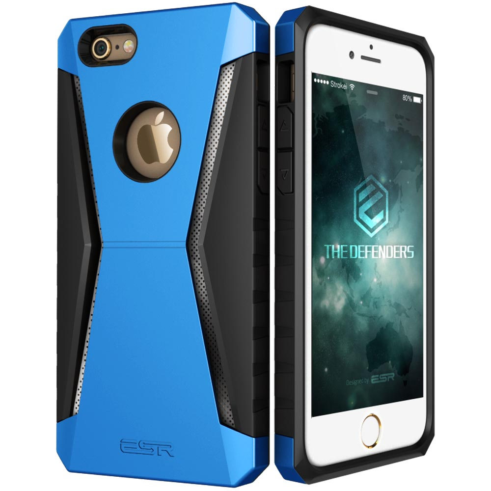 brand new 77b10 be9c8 US $8.76 |Case for iphone 6 6 Plus, ESR Defender Armor Tri Layer soft TPU  Rugged Heavy Duty Shock Absorbing Case for iPhone 6s Plus 6 Plus-in Fitted  ...