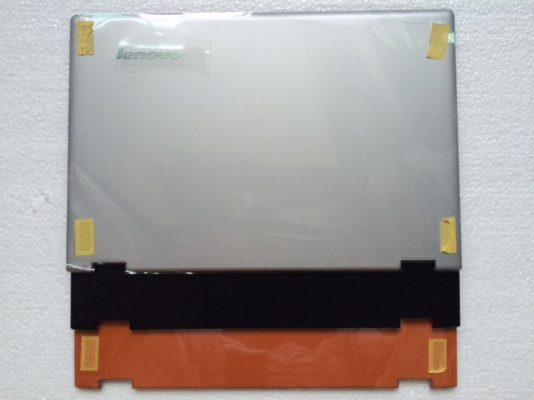 New Org lenovo Yoga 2 13 LCD rear back cover Yoga2 13 laptop shell notebook Black Orange Silver AM138000100 AM138000110 new for lenovo ideapad yoga 13 bottom chassis cover lower case base shell orange w speaker l