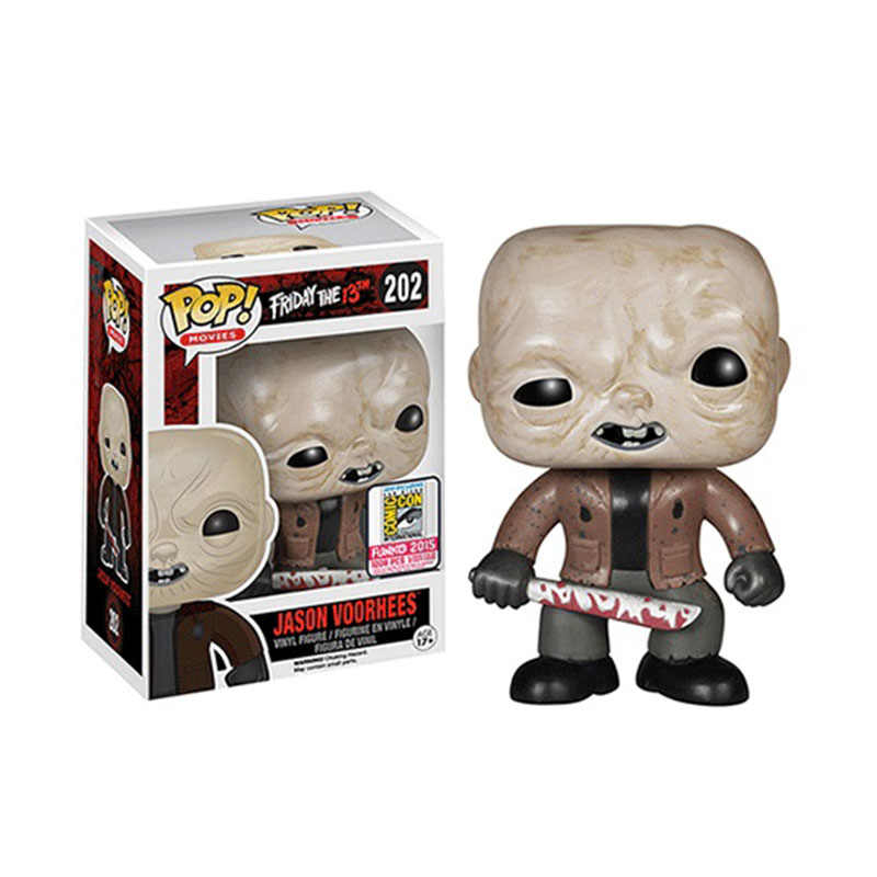 Funko Pop Friday the 13th Jason Voorhees #202 Vinyl Figure Dolls PVC Action Figures Collection Model Figure Toys Gifts for Fans