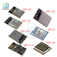 1 pc esp 01s esp8266 serial wifi wireless transceiver modele esp 01 updated version 1pcs ESP8266 ESP-01 ESP-01S ESP-07 ESP-07S ESP-12S ESP-12E ESP-12F ESP-12N serial WIFI wireless module wireless transceiver