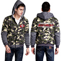2016 Mens Camouflage hoodie American NFL Teams Forest Camou All Star Thicken Fleece Coat US Plus Size