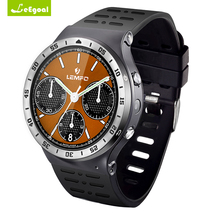 Leegoal S99A SmartWatch GSM 3G WCDMA Quad-Core Android 5.1 8G ROM SmartWatch GPS WiFi 5.0MP HD Camera Heart Rate Wearable Device