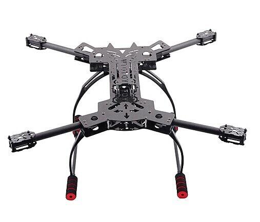 F11101 HMF600 RC Drone Quadcopter Frame Kit Carbon Fiber Foldable H ...