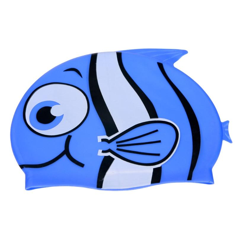 Uşaq uşaqları üçün yeni suya davamlı üzgüçülük kepkaları - İdman geyimləri və aksesuarları - Fotoqrafiya 6