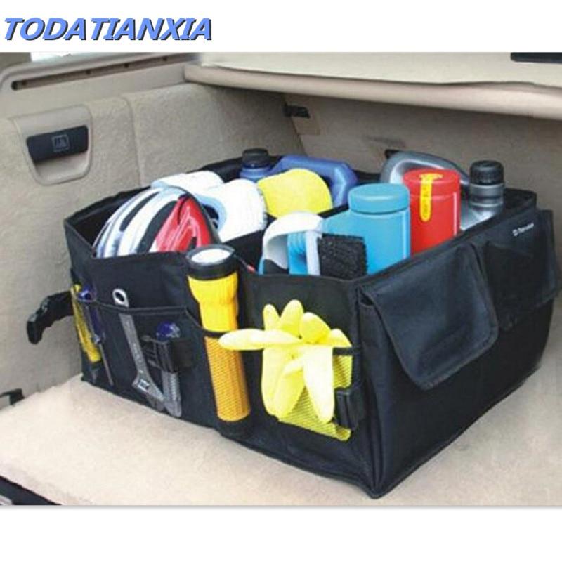 Car Auto Back Rear Trunk Seat Big Storage Bag Pocket Organizer for Peugeot 307 206 308 407 207 30082017 2008 208 508 301 306