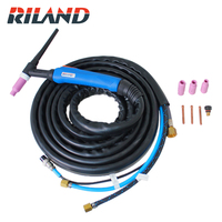 RILAND WP18 TIG Torch TIG18 Argon Welding Torch 4 meters 13ft Water Cooled torch for 180A 220A TIG Welding Machine