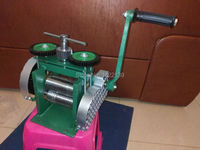 Combination Rolling Mill ROLLERS For Making Flat Wire Square Half Round Sheet Stock , Jewelers Tool