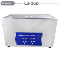 FREE SHIPPING TO RUSSIA Industrial Digital Ultrasonic Cleaner 30L Intelligent Control Cleaning Machine Oil Dust Filter Cleaner