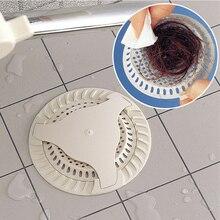 1pcs Kitchen Sink Filter Bathroom Sucker Floor Drains Shower Hair Sewer Filter Colanders Strainers Silicone For