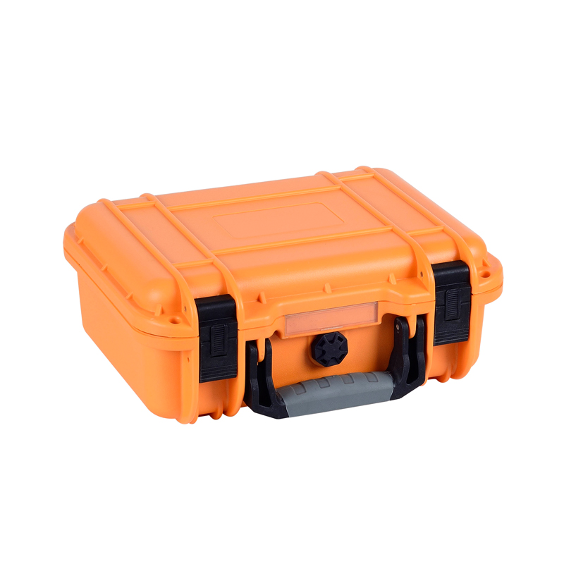 Waterproof shockproof yellow hard equipment case