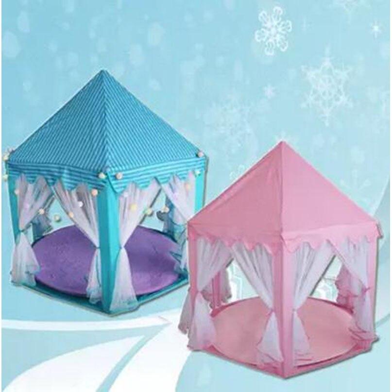 Six Side Princess Children Kid Ocean Ball Game Play Tent Outdoor ...