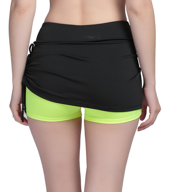 Women Summer Skirt Shorts 2016 Fashion Women's Casual Bow Cool Adventure Time Short Fitness Workout Shorts Active Bottom 2016