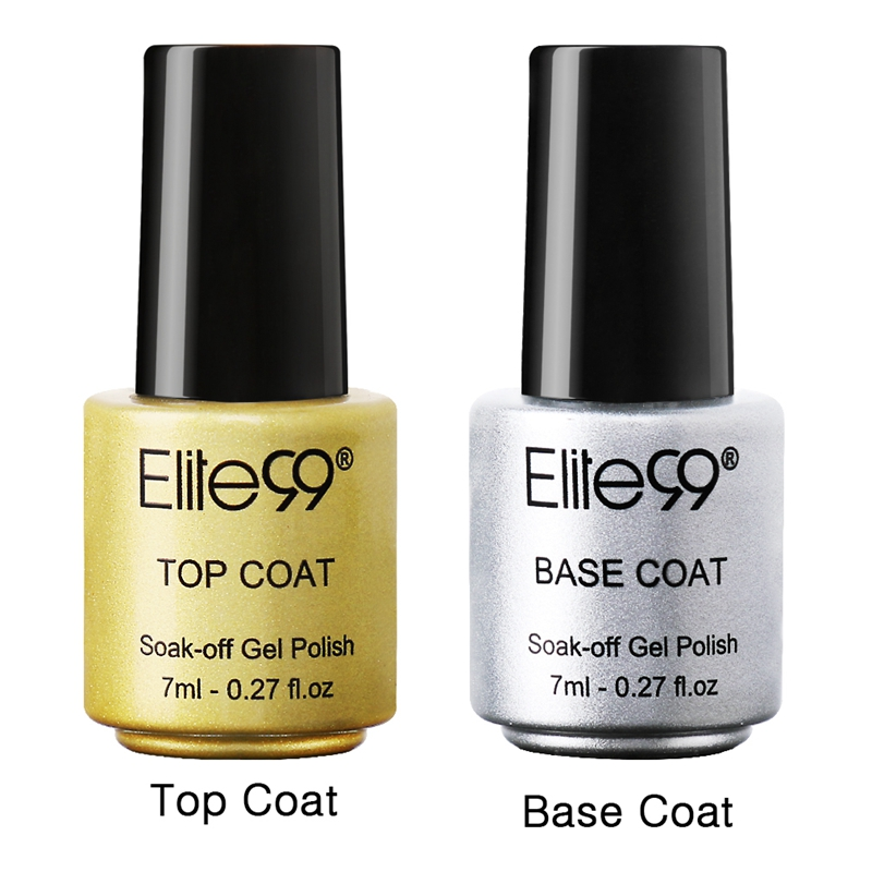 Aliexpress Elite99 Gel Nail Primer 7ml Top Coat It Off Base Foundation For Uv Polish Best On Ali New Style Lacquer From